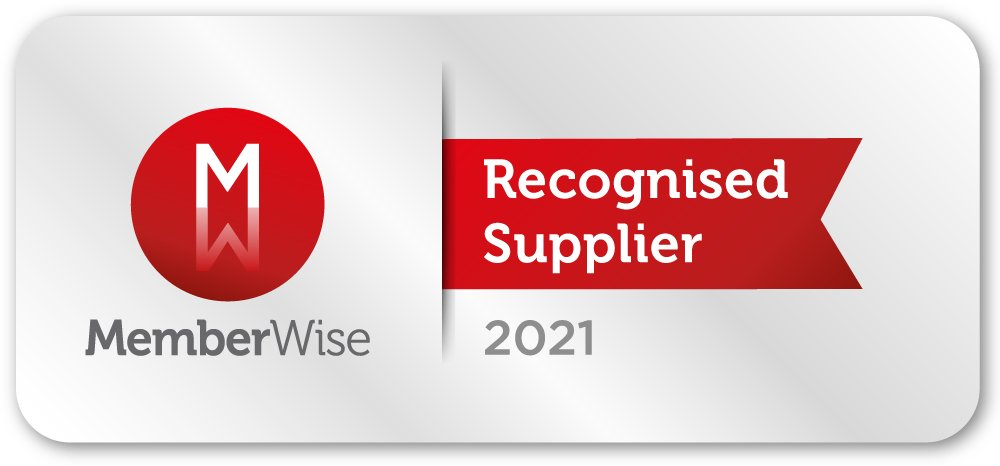 MemberWise Recognised Supplier badge 2021
